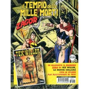 Zenith Gigante - N° 691 - Il Tempio Delle Mille Morti+Albetto Tex Willer 0 - Zagor Bonelli Editore