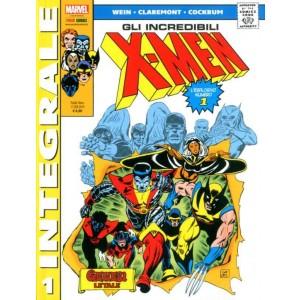 X-Men Di Chris Claremont - N° 1 - X-Men Di Chris Claremont - Marvel Integrale Panini Comics