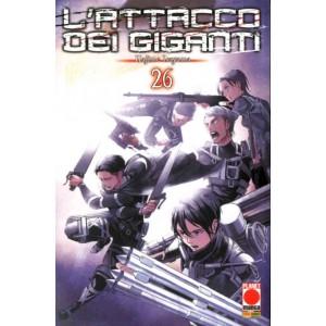 Attacco Dei Giganti - N° 26 - Attacco Dei Giganti - Generation Manga Panini Comics