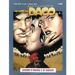 Dago Ristampa - N° 164 - Legami D'Amore E Di Sangue - Editoriale Aurea