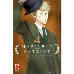 Moriarty The Patriot - N° 4 - Moriarty The Patriot - Manga Storie Nuova Serie Panini Comics