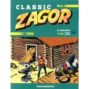 Zagor Classic - N° 2 - Tradimento! - Bonelli Editore