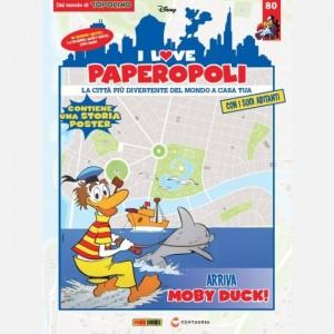 I Love Paperopoli Edificio Marina + Moby Duck + 1 pezzo base
