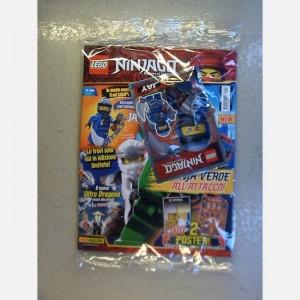 LEGO Ninjago Numero 28 + Una minifigure Lego® Ninjago!®