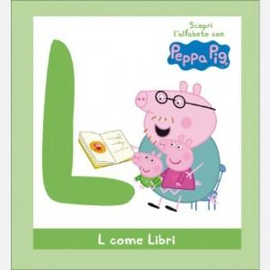 OGGI - Scopri l'alfabeto con Peppa Pig L come Libri
