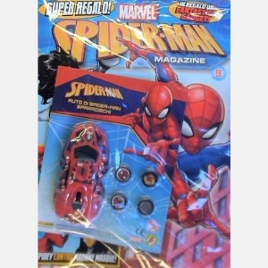 Ultimate Spider-Man - Magazine Dicembre 2018 (Numero 39) + Auto di Spider Man sparadischi