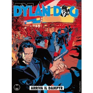 Dylan Dog N.371 - Arriva il Dampyr - copertina B
