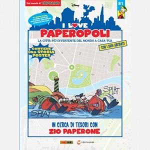 I Love Paperopoli 1 parte Motoscafo cercatesori + 1 pezzo base
