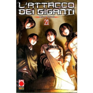 Attacco Dei Giganti - N° 21 - Attacco Dei Giganti 21 - Generation Manga Panini Comics