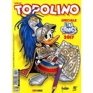 Topolino Libretto - N° 3210 - Topolino Libretto Variant Cover Etna Comics - Variant Cover Panini Comics