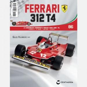 Ferrari 312 T4 in scala 1:8 (Gilles Villeneuve, 1979) Ferrari 312 T4 N° 86