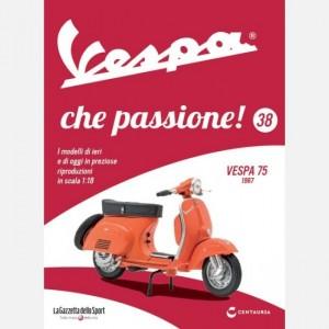 Vespa che passione! Vespa 75 1967