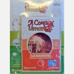 """Esplorando il Corpo Umano - 27esima edizione Fascicolo """"'La nascita"""" + DVD in HD"""