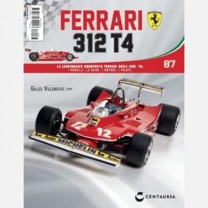 Ferrari 312 T4 in scala 1:8 (Gilles Villeneuve, 1979) Ferrari 312 T4 N° 87