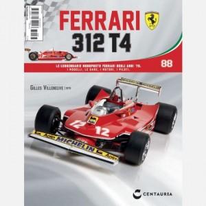 Ferrari 312 T4 in scala 1:8 (Gilles Villeneuve, 1979) Ferrari 312 T4 N° 88