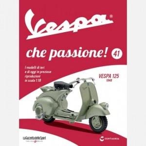 Vespa che passione! Vespa 125 - 1948
