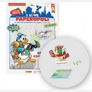 I Love Paperopoli 1 parte idrovolante + Gastone pilota + 1 pezzo base