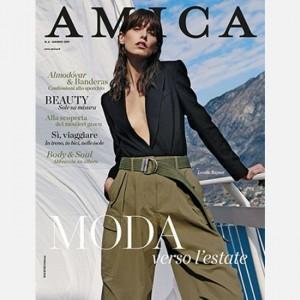 Amica Magazine Amica (Giugno 2019) + Telo Fouta per la tua estate