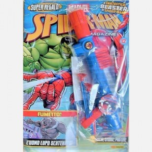 Spider-Man - Magazine Numero 12 + Il blaster