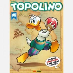 Disney Topolino Topolino N° 3315 + Copertina-puzzle 4 di 4
