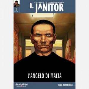 Albi avventura Il Janitor - L'angelo di Malta