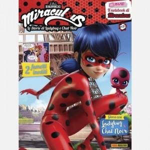 Miraculous - Le Storie di Ladybug e Chat Noir Ladybug - Uscita N° 21 + Il Notebook di Miraculous