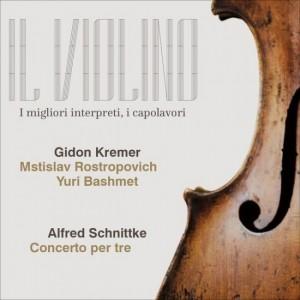 Il Violino Schnittke, Gidon Kremer - Concerto per tre strumenti ad arco