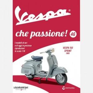 Vespa che passione! Vespa 150 sprint 1965
