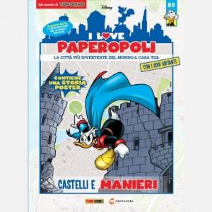 I Love Paperopoli 1 parte Castello del Duca Pazzo + 1 pezzo base