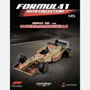 Formula 1 Auto Collection Jordan 196 Peugeot (1996) - Rubens Barrichello + raccoglitore fascicoli