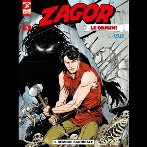Zagor Le Origini N.3 - Il demone cannibale