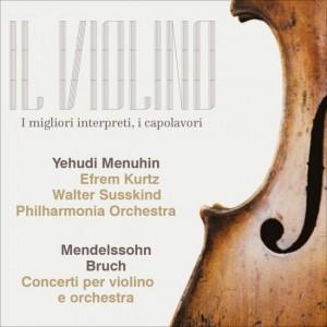 Il Violino Bach/Mendelssohn, Yehudi Menuhin - Concerti per violino