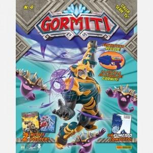 Gormiti - Magazine Numero 4 + un Gormita ufficiale esclusivo + codice per scaricare un personaggio extra dall'app!