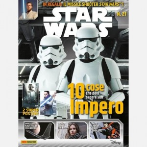 Star Wars Magazine Star Wars Magazine N°21 + un gadget di Star Wars!