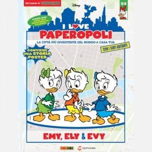 I Love Paperopoli 1 parte Università + 1 Lampione + Ely
