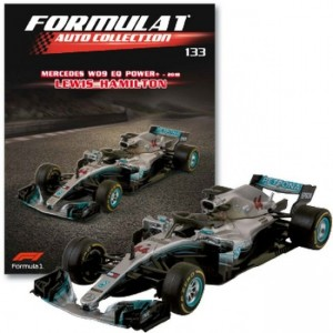 Formula 1 Auto Collection Mercedes W09 (2018)