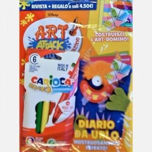 Disney Art Attack - Magazine Numero 31 + I pennarelli colorati
