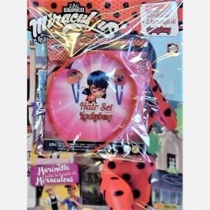 Miraculous - Le Storie di Ladybug e Chat Noir Ladybug - Uscita N° 23 + Cerchietto + 2 fermagli di Miraculous