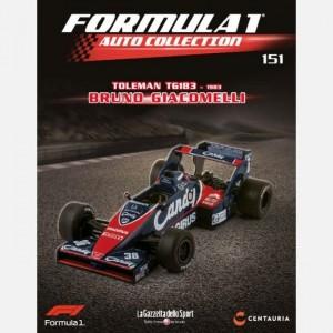Formula 1 Auto Collection Toleman TG 183 (1983) - Bruno Giacomelli