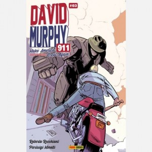 David Murphy 911 (Season 3) Numero #3 - Cover A by Jacopo Camagni