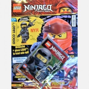 LEGO NINJAGO RIVISTA MAGAZINE N 33 IN ITALIANO POLYBAG JAY NUOVO SIGILLATO