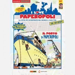 I Love Paperopoli Gru + 3 Cassoni + 1 pezzo Base