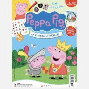 Peppa Pig - La Rivista Ufficiale! Uscita N° 144 + Il set del pirata