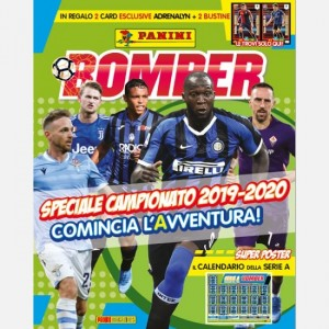 BOMBER - La rivista ufficiale Panini sul calcio Settembre 2019 (Speciale Campionato)