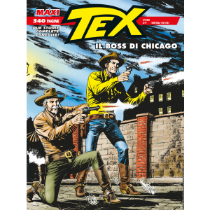 Maxi Tex N.25 - Il Boss di Chicago