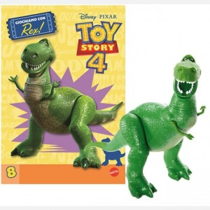 MATTEL - Toy Story 4 Collection  Uscita Nº 8                                                             del 19/12/2019                             Periodicità: Mensile Editore: MATTEL