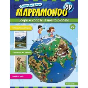 Costruisci il Mappamondo 3D 2^ edizione uscita 90