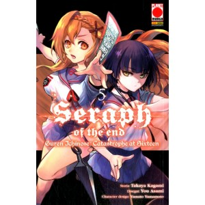 Seraph Of The End Guren... - N° 5 - Guren Ichinose - Catastrophe At Sixteen - Arashi Panini Comics