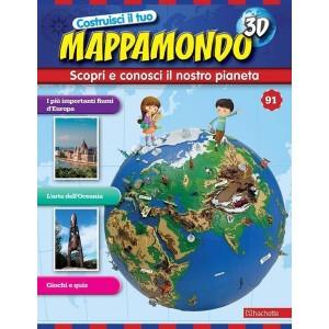 Costruisci il Mappamondo 3D 2^ edizione uscita 91