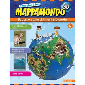 Costruisci il Mappamondo 3D 2^ edizione uscita 93